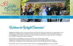 Kathi Wright - Wedding Officiant